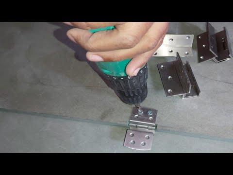 W Hinges Duck Hinges | कब्जा कैसे लगाते हैं? How To Fitting W Hinges On Cabinet Doors (wood Work Zk)