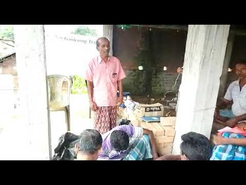 Farmer Expressing Gratitude to Mukti and Give India for Organizing Organic Training for Them