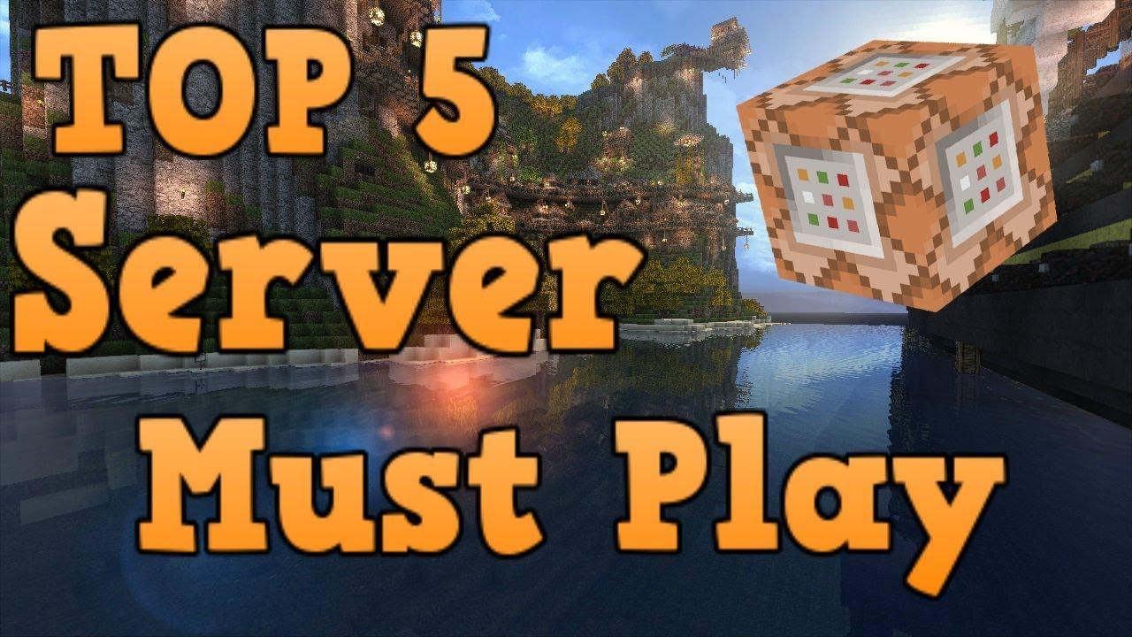 Top 5 Minecraft Bedrock Edition Servers/Realms