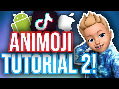 HOW TO USE ANIMOJI FOR IOS & ANDROID! WITHOUT IPHONE X! *NEW*