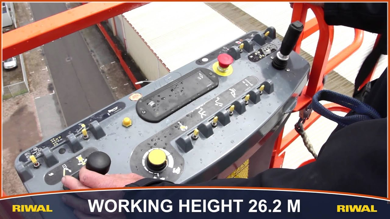 Riwal Launches 26 Meter Electric Boom Lift