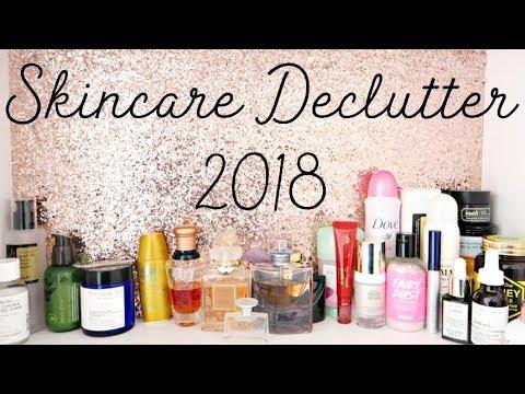 Skincare Declutter 2018