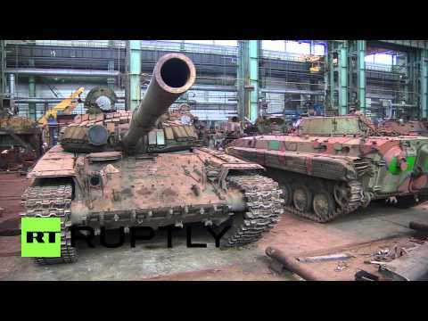 Ukraine: See the DNR's tank graveyard, ready for resurrection