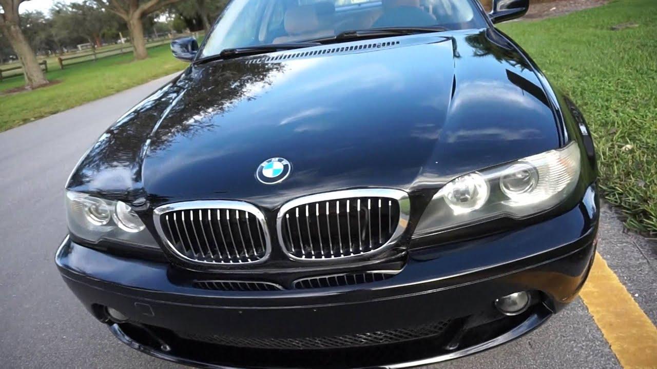 2004 BMW e46 330ci Manual Black Florida Clean Car Low Miles For