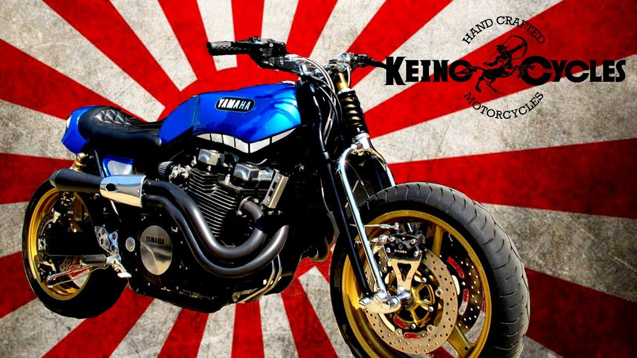 Yamaha Yard Built XJR1300 | Rhapsody in Blue by KEINO CYCLE