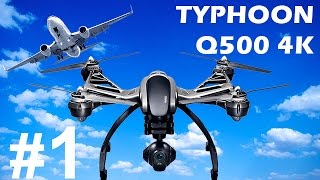 КВАДРОКОПТЕР YUNEEC TYPHOON Q500 4K (часть 1)