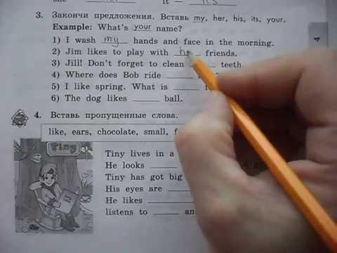 Гдз английский язык 3 класс биболетова enjoy english.