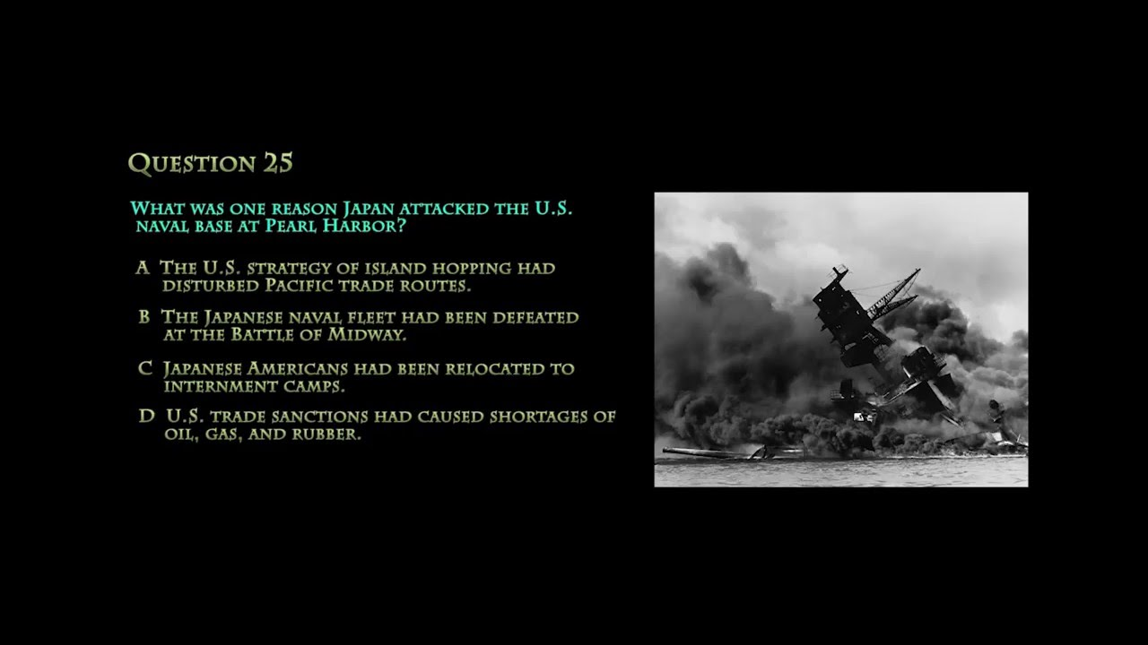 RMA - U S  History - EOC STAAR Exam Tutorial - Questions 21-40 with voice  over answers