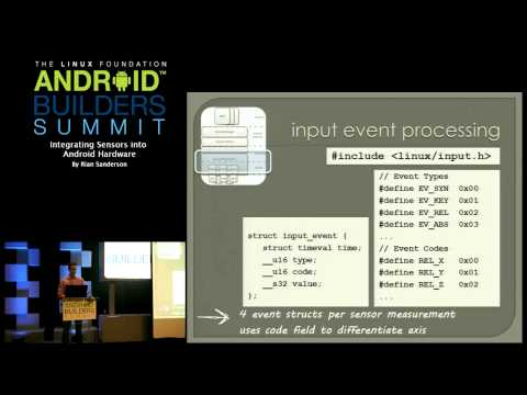 Android Builders Summit 2013 - Integrating Sensors into Android Hardware