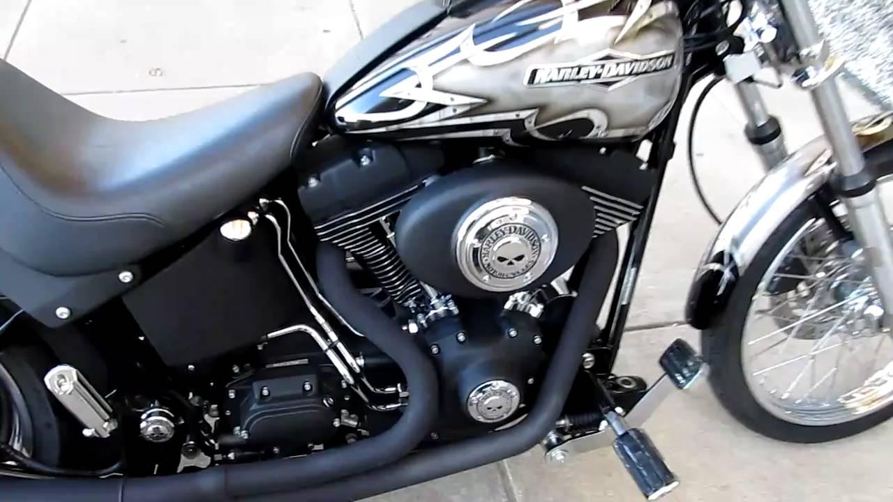 Harley Davidson Night Train Thunder Header Exhaust Sick