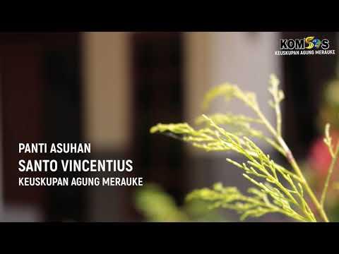 Kunjungan Prof.  Dr.  Bonaventura Ke Panti Asuhan St. Vincentius - Yayasan Bhakti Luhur Alma Merauke