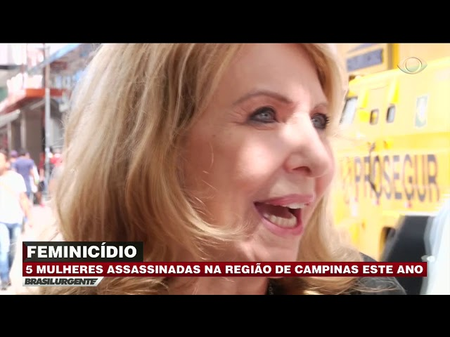 Cinco mulheres são assassinadas em Campinas neste ano