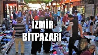 İzmir Bitpazarı - Zabıta tezgahlara müdahale ediyor