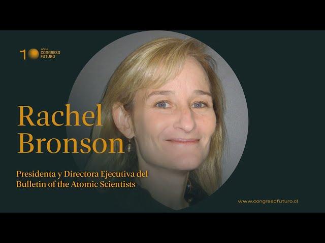 Rachel Bronson | El salto al vacío | Congreso Futuro 2021