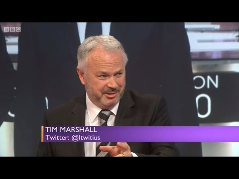 Tim Marshall on Daily Politics 4th May 2017
