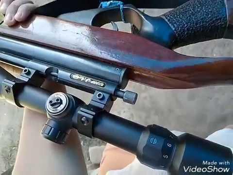 Dudukan kamera hp dari barang bekas untuk teleskop senapan angin