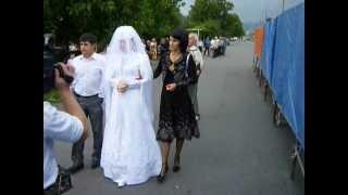 осетинская свадьба во Владикавказе.Черы и Жени
