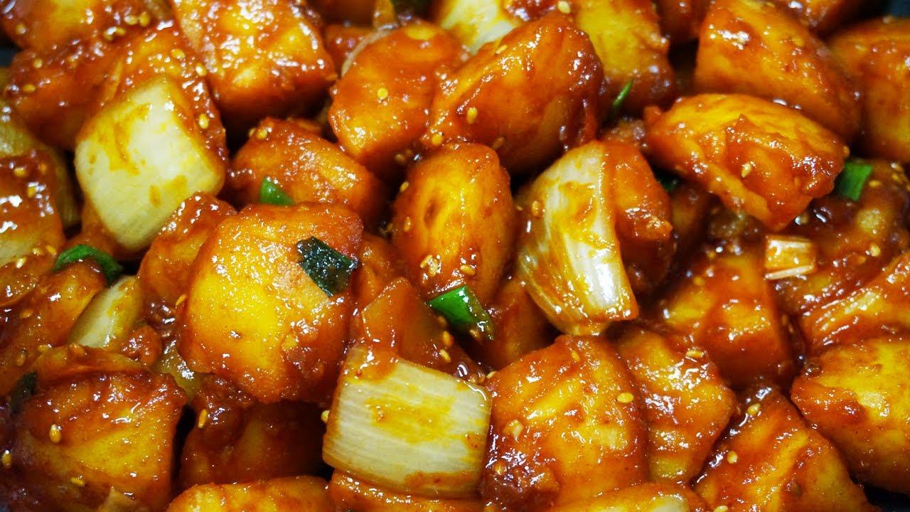 고추장감자조림 맛있게하는법, 안보면 후회하는 감자조림 비법! 이제 감자조림 이렇게 만드세요. 양념비율도 완벽~