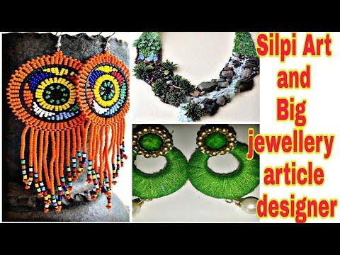 How to make Chandbali Silk Thread Earrings | DIY | How to make Designer Silk Thread Earrings at Home