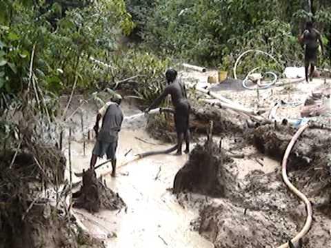 GUYANA. Más trabajo en la mina de oro y diamantes