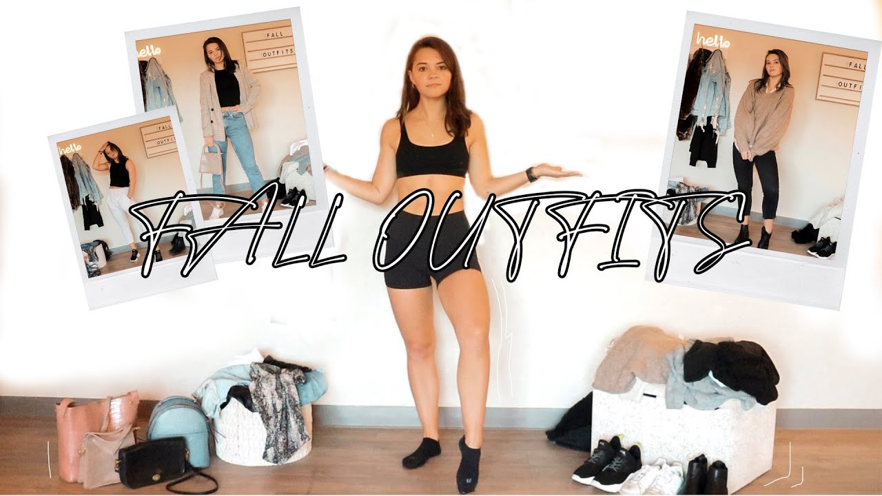 [VIDEO] - EASY & COMFY FALL OUTFITS // Style Inspiration for College or High School 7