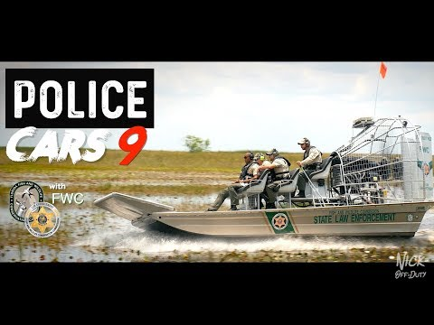 POLICE CARS (FWC POLICE AIRBOAT)