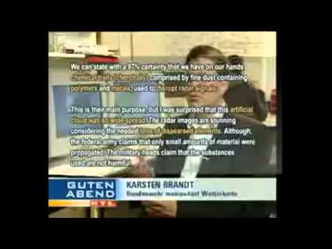 Chemtrails KC-10 filmed spraying + German News report about military chemtrails