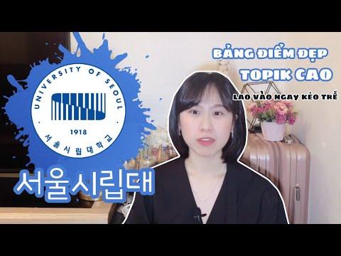 [Hanviet Edu] 서울시립대학교 XỊN từ CHẤT LƯỢNG đến … TIỀN HỌC PHÍ | MỖI VID MỘT TRƯỜNG