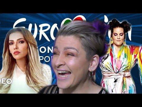 袪袨小小袠携 vs 袠袟袪袗袠袥鞋 袪袝袗袣笑袠携 袝袙袪袨袙袠袛袝袧袠袝 2018   EUROVISION 2018 RUSSIA vs ISRAEL REACTION
