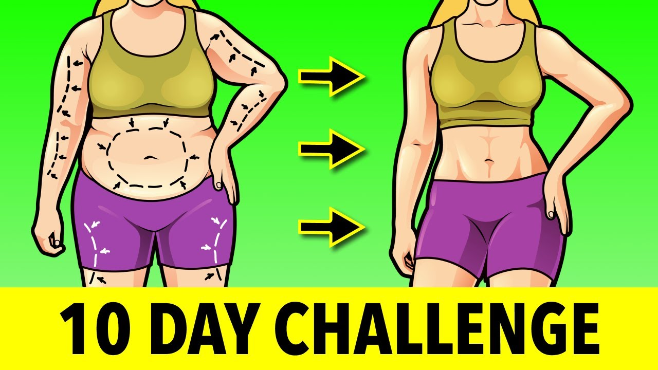 10-DAY CHALLENGE FOR WEIGHT LOSS