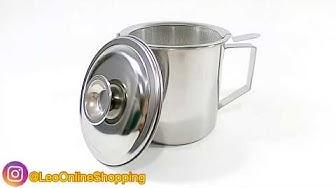 Oil pot - Saringan Minyak Stainless 1.1 liter