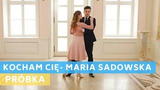 Sample tutorial in polish : Maria Sadowska - Kocham Cię - Kayah | Wedding Dance | First Dance Online