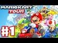 Mario Kart Tour - Gameplay Part 1 - New York Tour Mario Cup! Gold Pass 200cc! (iOS)