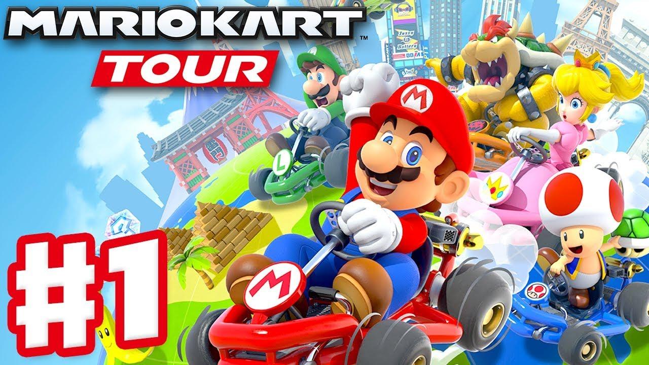 Mario Kart Tour Gameplay Part 1 New York Tour Mario Cup Gold
