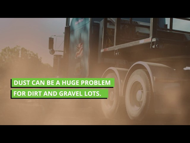 Stop Road Dust Once and For All