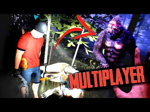 Hunting the REAL BIGFOOT Horror Game... MULTIPLAYER! (Bigfoot Horror Roleplay) |
