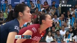 《2015女排亚锦赛》半决赛 中国vs泰国 04