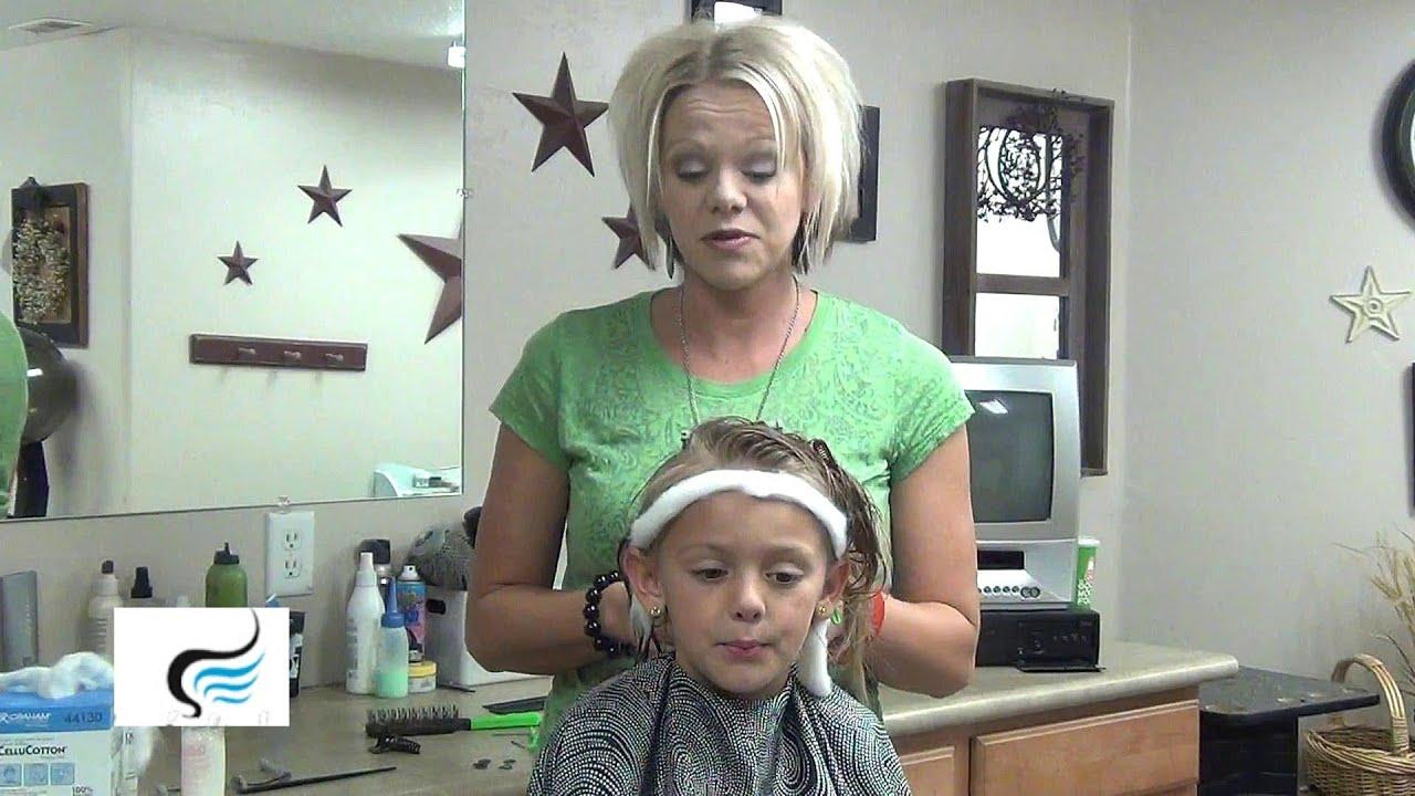How To Perm Hair Hair Perming Hairstyles Youtube