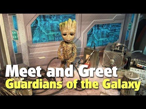 Guardians of the Galaxy Meet and Greet   Walt Disney World