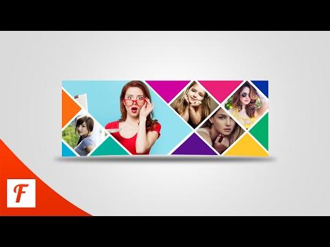 Photoshop Tutorial - Facebook Cover Photo Design