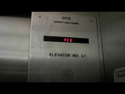"Otis ""Colorful"" Elevator at Piedmont Hospital South Parking"
