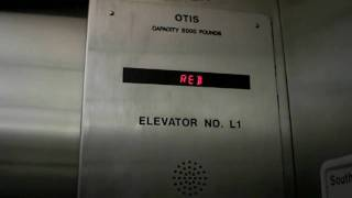 "Otis ""Colorful"" Elevator at Piedmont Hospital South Parking"
