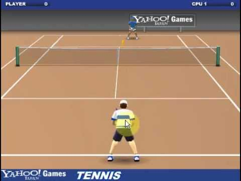Yahoo Tennis Flash Game Casual Gameplay Youtube