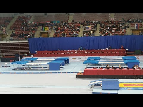2017 FIG Trampoline World Age Group Competitions day 2 part 2