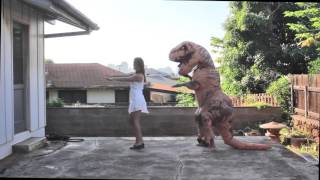 Teaching A T-Rex to Macarena