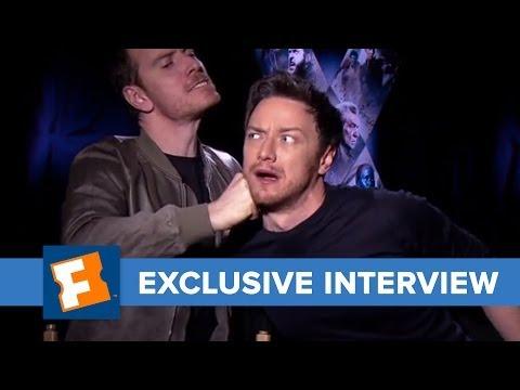 X-Men: Days of Future Past - The Fandango Interview | Celebrity Interviews | FandangoMovies