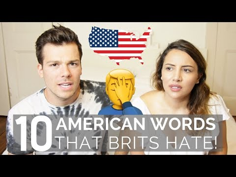 🇺🇸 American Words that British People HATE! 🇬🇧