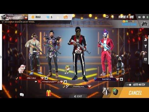 Freefire Global Squad Gameplay Ii Team Titanium