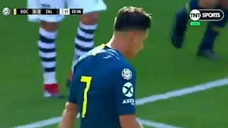 Boca juniors vs Talleres 1-0 resumen partido gol