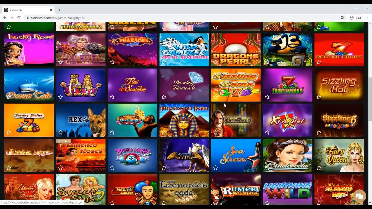 Online Casinos Mit Novoline